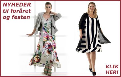 Trendy dametøj i store størrelser til foråret