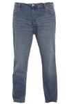 Klassisk jeans fra Duke, med slid
