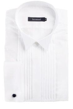 Bosweel - Smokingskjorta, kort krage