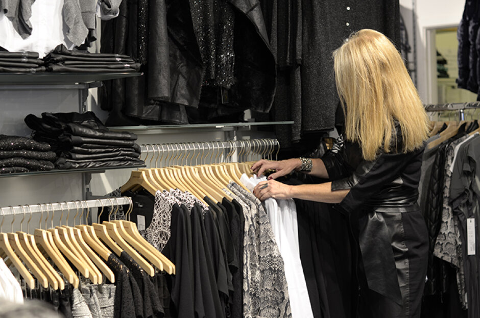 Dameafdeling - Shopping