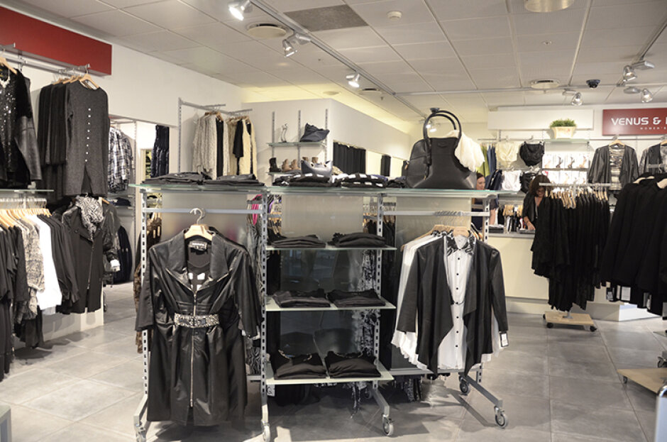 Dameafdeling - Læder, accessories m.m.