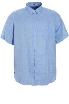 Maxfort - Hørskjorte, kortærmet