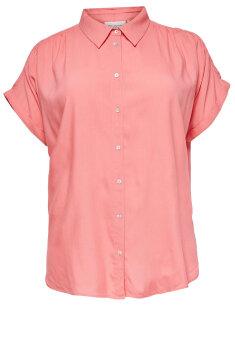 Only Carmakoma - Skjorte, kortærmet
