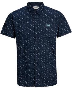 Jack & Jones - Skjorte, Kort ærmet
