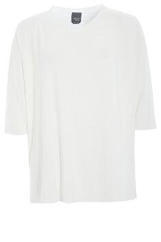 Persona by Marina Rinaldi - Strik bluse med 3/4 langt ærme