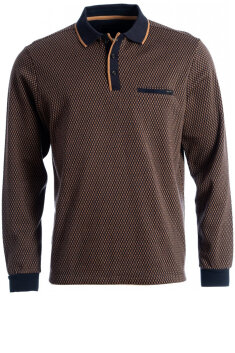 Roberto - Poloshirt, langærmet