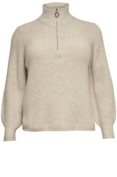 Only Carmakoma - Stickad pullover