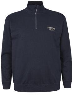 North - Sweatshirt med lynlås